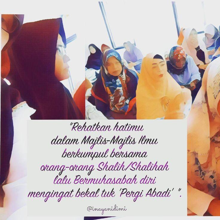 Berkumpullah dalam Majelis-majelis ilmu syari