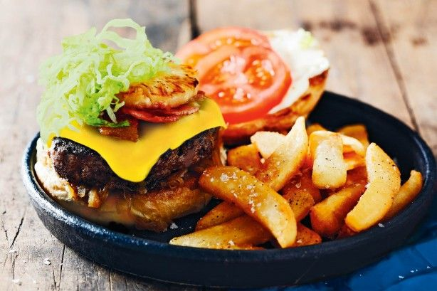"""Matt Preston says that, """"A great burger has a balance of crunch, creaminess, freshness, saltiness and tang to contrast with the crusty-edged meat and soft bun. It also has a structural integrity that means the middle doesn't drop out the back on the first bite!"""""""