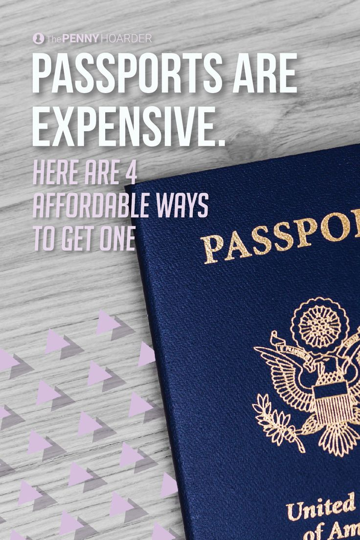 Thanks to a new law set to go into effect in 2018, many U.S. citizens may need a passport -- even if they don't plan to leave the country. Here are some ways to help you cover the passport fees if you can't afford to get one...