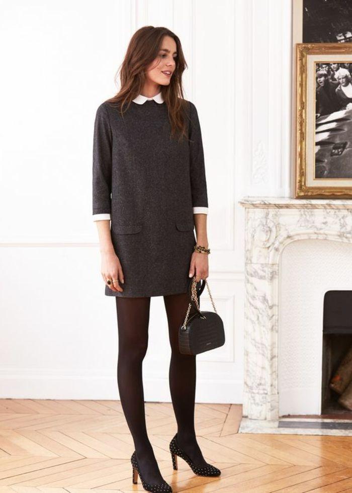 les 25 meilleures id es de la cat gorie robe col claudine sur pinterest robe noire col. Black Bedroom Furniture Sets. Home Design Ideas