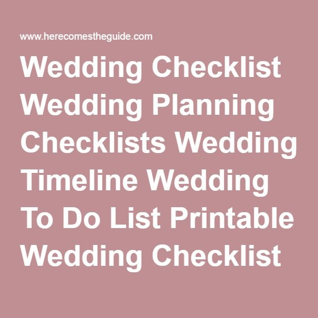 The 25+ best Printable wedding planning checklist ideas on - christmas preparation checklist