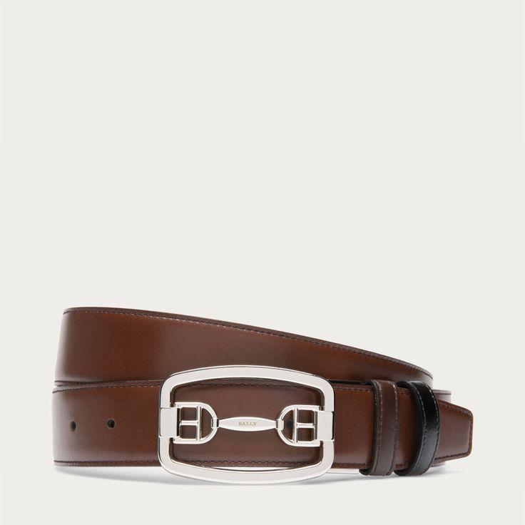 Elegant Italian Leather Belt
