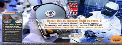 Chronodisk Inc. Les Experts en récupération de données