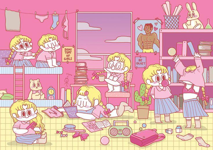 [MYFOLIO] 16. 소녀들, 이공(LEE,GONG) - 노트폴리오 매거진