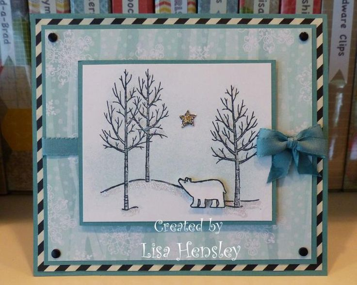Polar Bear Star by ponygirl40 - Cards and Paper Crafts at Splitcoaststampers