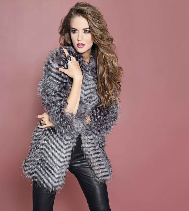 Love this from @bebestores #finderskeepersfridayClear Alonso, Faux Fur, Fur Coats, Fashion Hair, Chevron Faux, Bebe Coats, Leather Pants, Bebe October, Cold Weather