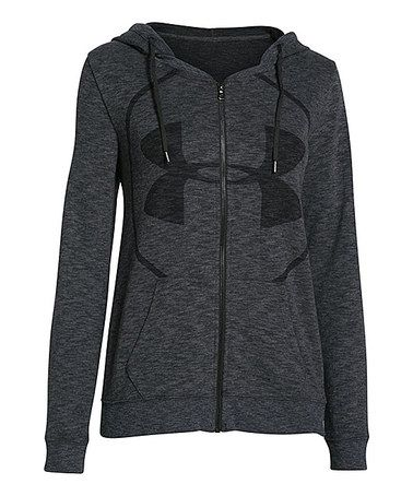 Another great find on #zulily! Carbon Heather Kaleidalogo Hoodie by Under Armour® #zulilyfinds