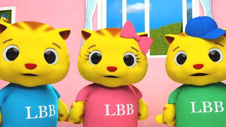 Para 3 años - Tres gatitos
