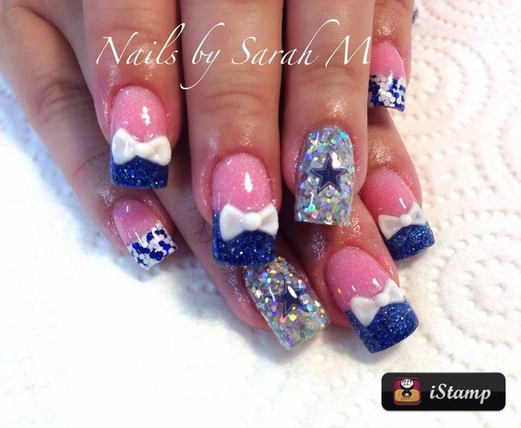 Cowboy acrylic nails   fantabulous   Pinterest