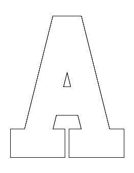 Muster aus Buchstaben und Zahlen