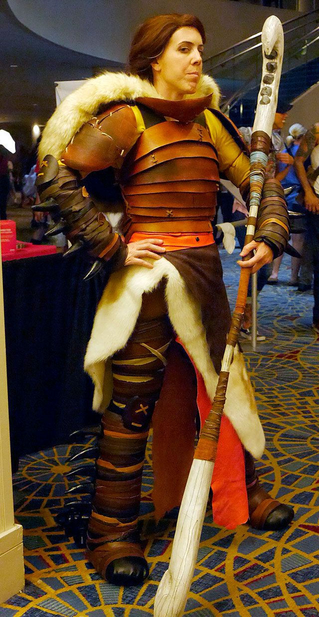 How To Train Your Dragon Valka Cosplay