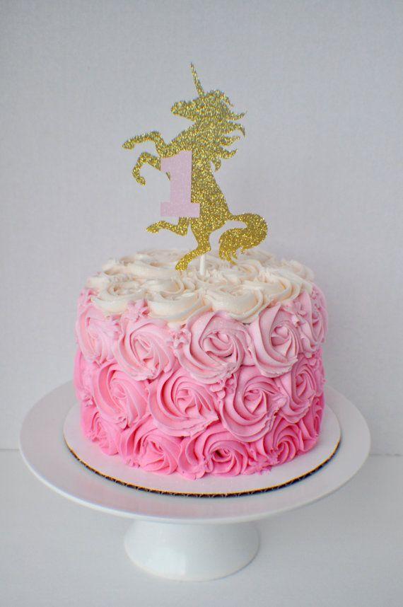 FOOD PRESENTATION OPTION: Unicorn Cake Topper Unicorn Party decoration by SmashCaked on Etsy