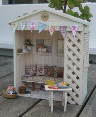 Liberty Biberty, #miniature garden getaway.