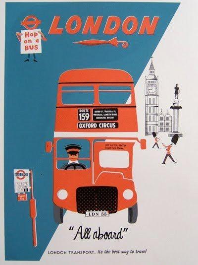 Magic Illustrations / london #london bus