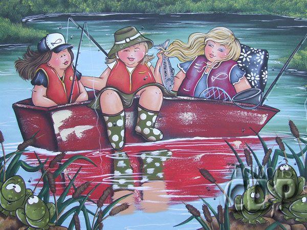 Lac aux quenouilles par Isabelle Desrochers