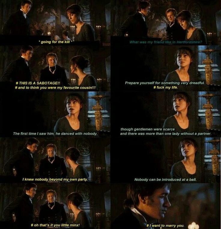 Darcy's inner struggles # 23