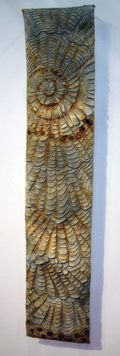 Layered Cloth by Ann Small | Abstract embroidery, Fiber ...
