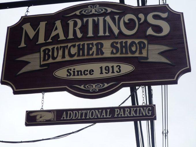 Butcher shop sign martino s butcher shop signage mongolia butcher mood