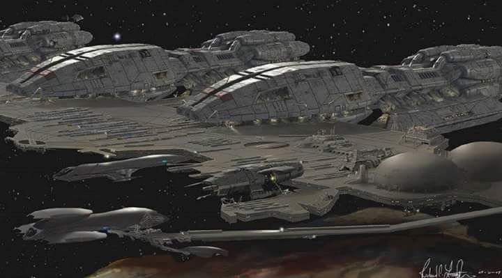 Colonial One Battlestar Galactica Spacecraft Kiln Dry Wood ...  |Battlestar Galactica Spacecraft