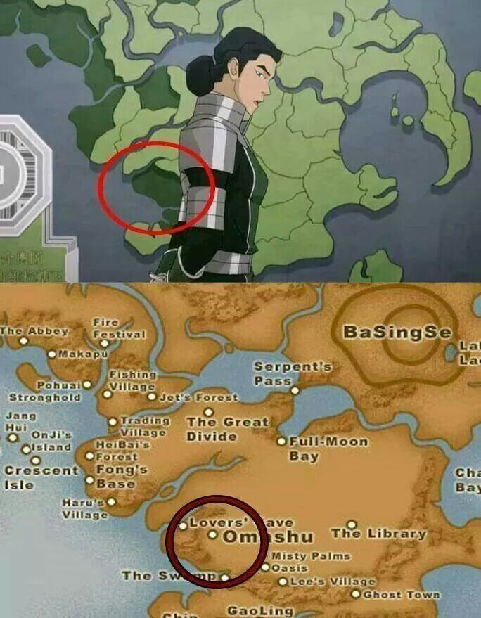 Lover's cave and the Swamp  | Avatar and The Legend of Korra | Korra