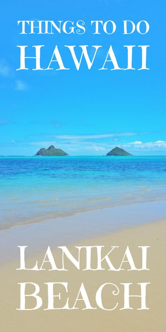 Hawaii has some of the best beaches in the world, including Lanikai Beach. So for beaches on Oahu, add this to your list of things to do during your Hawaii vacation. It deserves a spot on your U.S. travel bucket list as a beach destination! You can go snorkeling here too and there's a nearby hiking trail for a fun Hawaii vacation so make sure packing is for beach and hikes in Oahu!