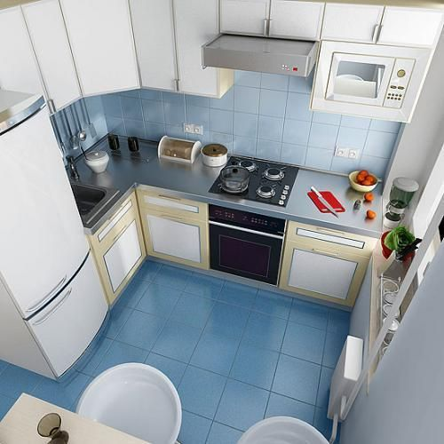 Интерьер кухни 5 кв.м