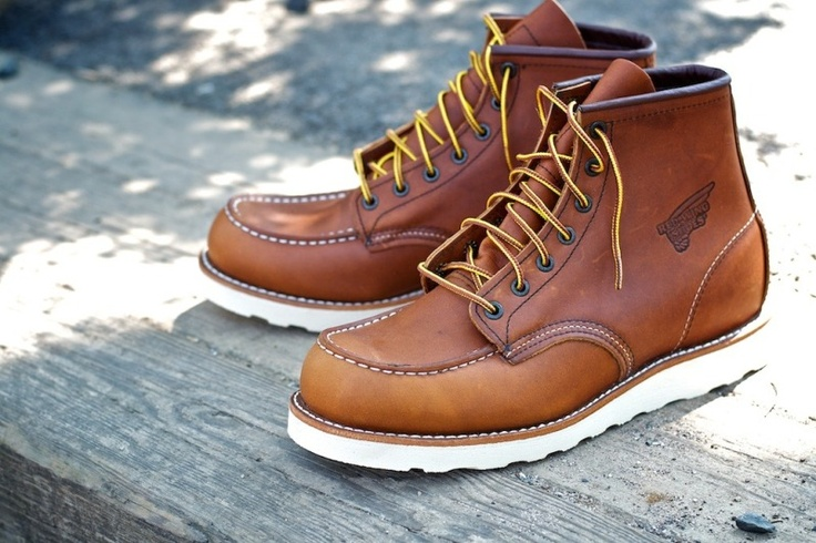 Red Wing no. 875 6-inchMen Fashionist, Men Boots, S Red Wings, Red Wing Shoes, Men Mode, Red Wings Shoes, 875 6 Inch