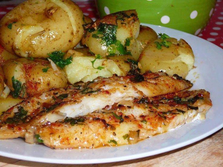 PROSA  -   TRECOS     E     CACARECOS: FILÉ DE PEIXE COM BATATAS!   cooking