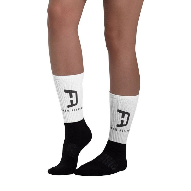 Drew Holiday Foot Socks @ drewholiday.com