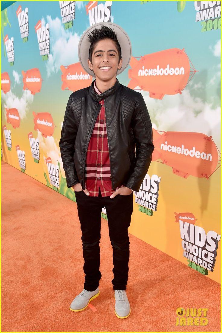 Karan Brar at the Kids Choice Awards 2016