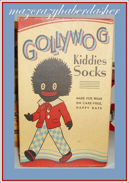 Golliwog Sock Box
