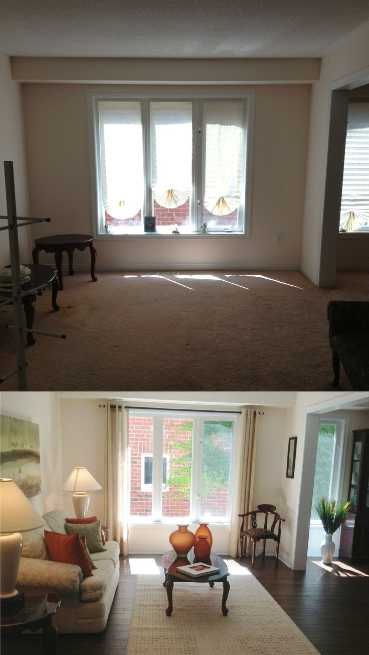 63 best Before and After Home Staging. images on Pinterest | Home ...