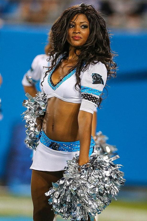 NFL Cheerleaders: Preseason Week 2 - Carolina Panthers TopCats