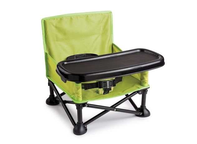 High Chair Booster Seat Baby Toddler Portable Folding Camp Picnic Outdoor  New