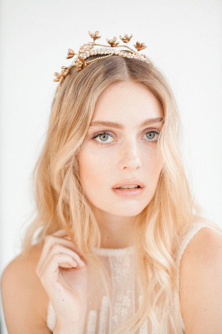 Swoon over jannie baltzer s wild nature bridal headpiece collection - Jannie Baltzer The Wild Nature Collection Headpiece For Weddingwedding