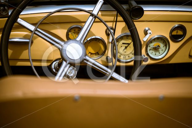 Qdiz Stock Photos | Steering wheel with dashboard and in retro car interior,  #ancient #antique #auto #automobile #automotive #car #classic #Clock #closeup #Collectors #control #dashboard #design #interior #machine #obsolete #Odometer #old #Old-fashioned #Oldtimer #panel #Past #Rare #retro #speedometer #steering #style #transport #transportation #vehicle #vintage #wheel