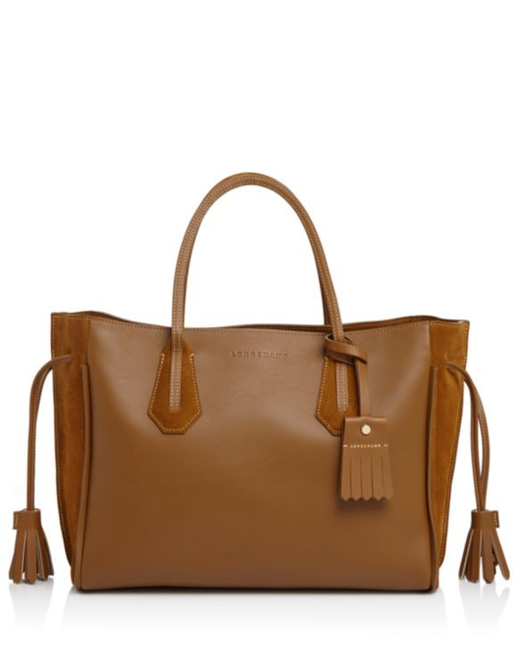 Longchamp Jacquard Tote Tasche