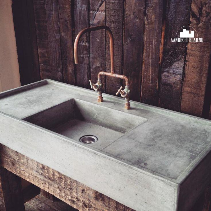 beton wasbak maken - Google zoeken