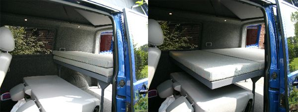 Van Conversions Kombi Beds Amp Swivel Seats To Be Beds