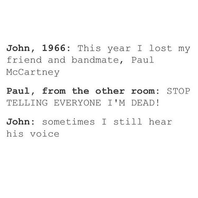 "I DO NOT BELIEVE IN THE ""PAUL IS DEAD"" HOAX!"