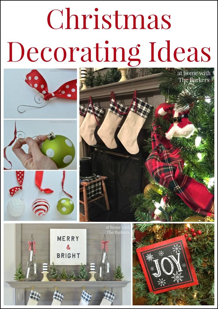 Christmas Decorating Ideas with Vintage Style