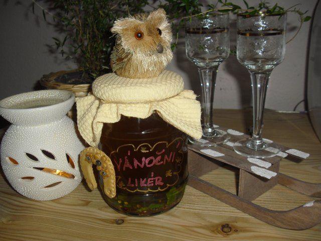 CIMG6863.JPG Pro vánoční hosty už několik let připravuji tento likér s vůní vánočního ko