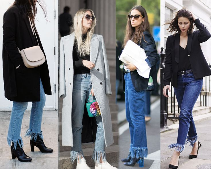Trend Report: The Fringed Jeans | Style Limelight | Style Limelight