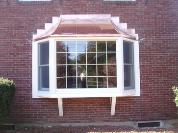 Andersen Bay Window With Copper Roof Design Pictures