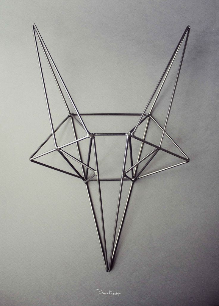 This steel Fox presents the perfect representation of the framing structure of my design