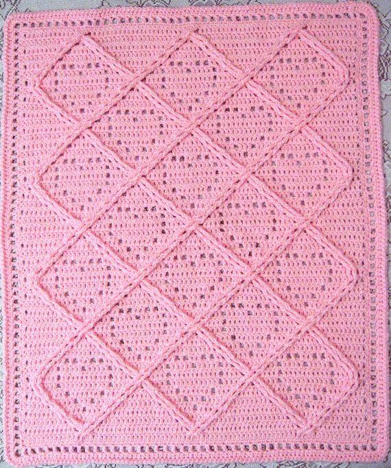 Mejores 249 imágenes de **Crochet Baby Blankets #5 en Pinterest ...