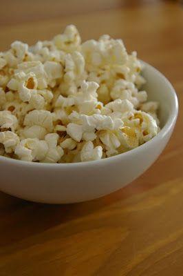 Sucré - Salé: Pop corn sans matière grasse au micro ondes