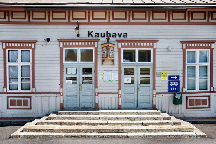 Kauhava railway station (1884) (Kauhava, South Ostrobothnia province of Western Finland) - photo Sameli Kujala