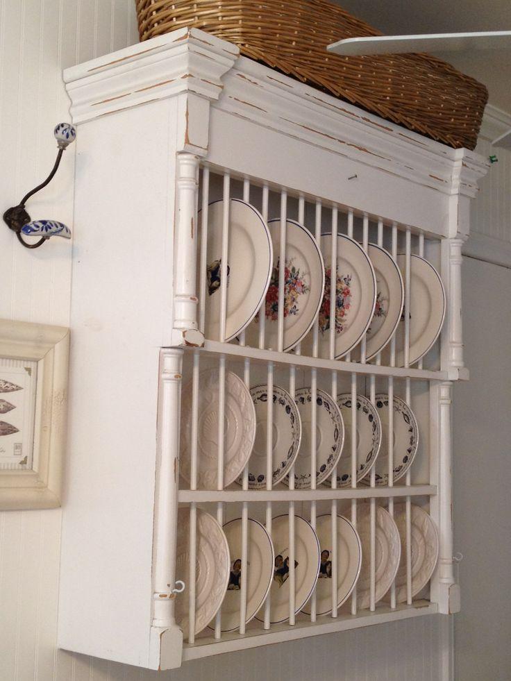 vintage plate racks