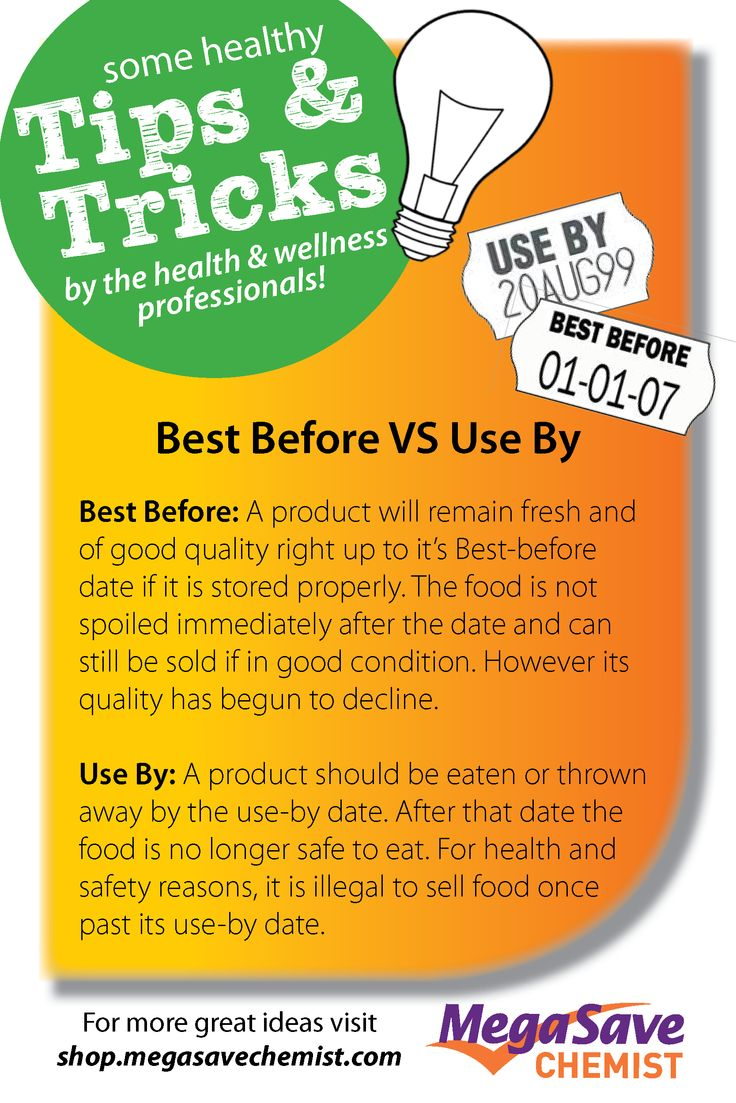 Do you know the difference between Best Before and Use By? Check it out!
